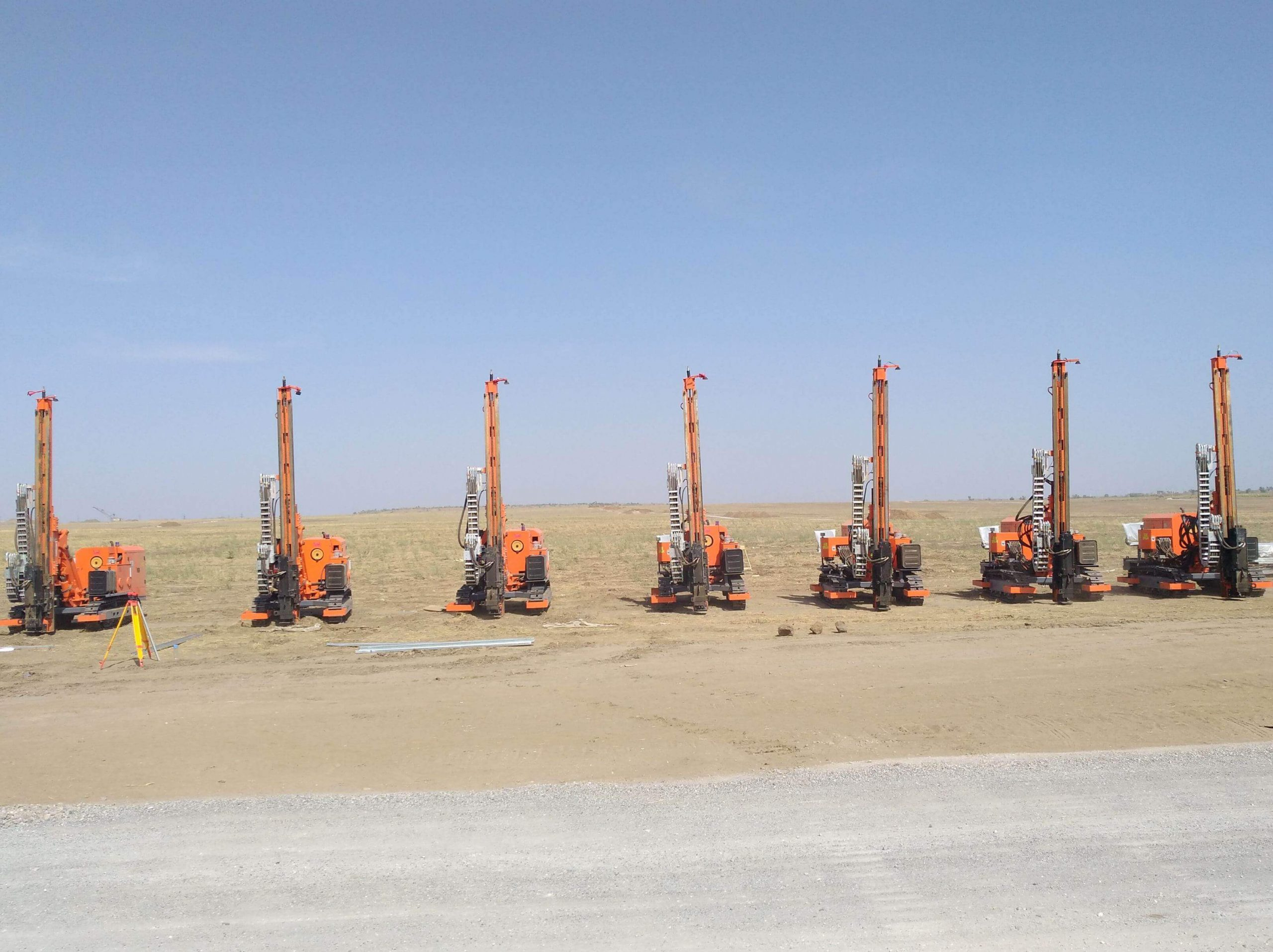 mz460y 3 solar drilling rig3