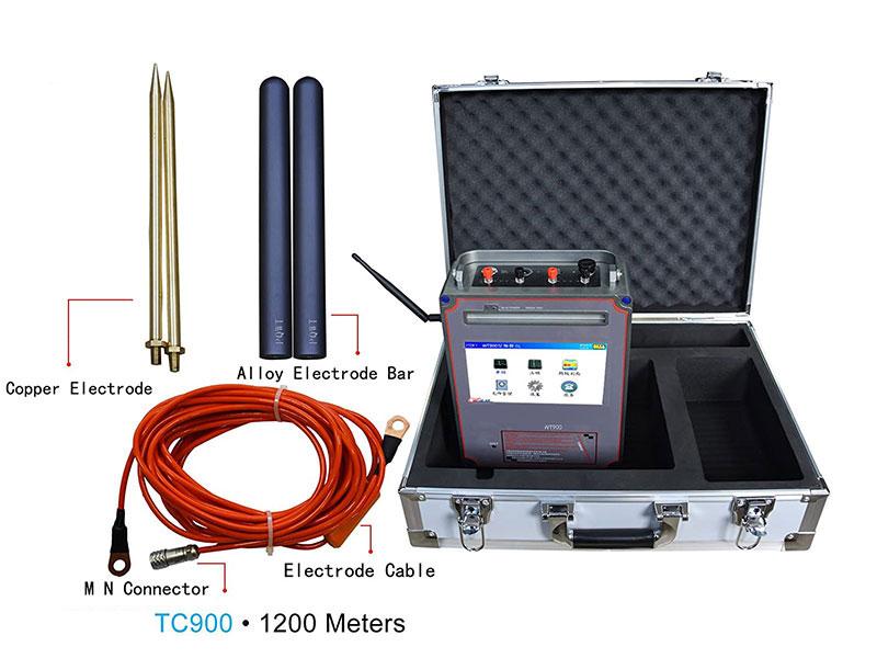 tc900 1200m water detector4